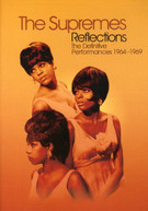 SUPREMES - REFLECTIONS: THE DEFINITIVE PERFORMANCES 1964-1969 DVD