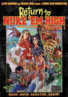 RETURN TO NUKE EM HIGH 1 DVD