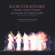 STRAVINSKY COLUMBIA SYMPHONY ORCHESTRA - STRAVINSKY: RITE OF SPRING VINYL