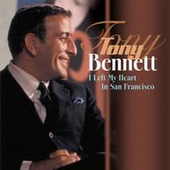 TONY BENNETT - I LEFT MY HEART IN SAN FRANCISCO (IMPORT) VINYL