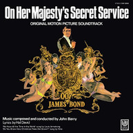 ON HER MAJESTY'S SECRET SERVICE SOUNDTRACK VINYL
