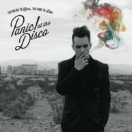 PANIC AT THE DISCO - TOO WEIRD TO LIVE TOO RARE TO DIE VINYL