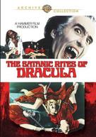 SATANIC RITES OF DRACULA DVD