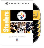 NFL GREATEST GAMES: STEELERS SUPER BOWLS (5PC) DVD
