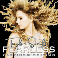 TAYLOR SWIFT - FEARLESS PLATINUM EDITION (GATE) VINYL
