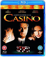 CASINO - 20TH ANNIVERSARY (UK) BLU-RAY