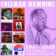 COLEMAN HAWKINS - COMPLETE ALBUMS COLLECTION: 1957-1959 CD