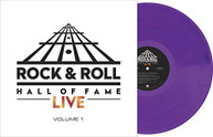 ROCK & ROLL HALL OF FAME LIVE 1 / VARIOUS VINYL