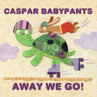 CASPAR BABYPANTS - AWAY WE GO! CD