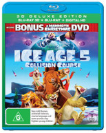 ICE AGE: COLLISION COURSE (INCL. MAMMOTH CHRISTMAS) (3D BLU-RAY/BLU-RAY/DIGITAL