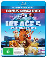 ICE AGE: COLLISION COURSE (INCL. MAMMOTH CHRISTMAS) BLURAY