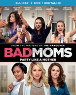 BAD MOMS (2PC) (+DVD) (2 PACK) BLURAY