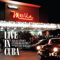 JAZZ AT LINCOLN CENTER ORCH / WYNTON  MARSALIS - LIVE IN CUBA VINYL