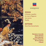 ROSSINI / SALVATORE / I MUSICI  BOTTESINI / ACCARDO - ROSSINI: SONATE A CD