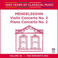 VARIOUS ARTISTS - MENDELSSOHN: VIOLIN CONCERTO NEW CD - VARIOUS ARTISTS CD