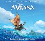 MOANA / SOUNDTRACK (DLX) CD