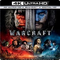 WARCRAFT - WARCRAFT (+BLURAY) (4K) 4K BLURAY