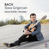 BACH / SLAVA  GRIGORYAN - BACH: CELLO SUITES VOLUME 1 CD