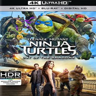 TEENAGE MUTANT NINJA TURTLES: OUT OF THE SHADOWS 4K BLURAY