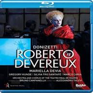 DONIZETTI /  DEVIA / CARIA - DONIZETTI: ROBERTO DEVEREUX BLURAY