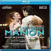 MASSENET /  DUPONT / BOLLE - MACMILLAN'S L'HISTOIRE DE MANON BLURAY
