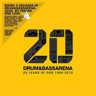 DRUM&BASSARENA 20 YEARS / VARIOUS (UK) CD