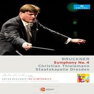 BRUCKNER /  DRESDEN / THIELEMANN - ANTON BRUCKNER: SYMPHONY 4 DVD