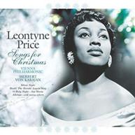 LEONTYNE PRICE - SONGS FOR CHRISTMAS (IMPORT) VINYL