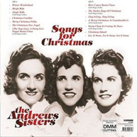 ANDREW SISTERS - SONGS FOR CHRISTMAS (IMPORT) VINYL