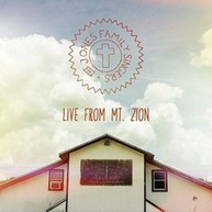 JONES FAMILY SINGERS - LIVE FROM MT. ZION CD