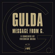 GULDA /  GULDA / ANDERS - FRIEDRICH GULDA: MESSAGE FROM G VINYL