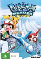 POKEMON HEROES (2002) DVD