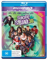 SUICIDE SQUAD (3D BLU-RAY/BLU-RAY/UV) (2016) BLURAY