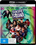 SUICIDE SQUAD (4K UHD/BLU-RAY/UV) (2016) BLURAY