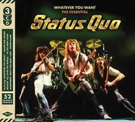 STATUS QUO - WHATEVER YOU WANT: ESSENTIAL STATUS QUO (UK) CD