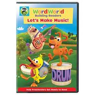 WORDWORLD: WORDWORLD - LET'S MAKE MUSIC DVD