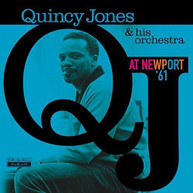 QUINCY JONES &  HIS ORCHESTRA - AT NEWPORT 61 (IMPORT) VINYL