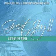 MICHAEL MCELROY - GREAT JOY II: AROUND THE WORLD CD