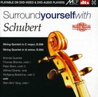 BRANDIS QUARTET /  SCHUBERT / YANG - SURROUND YOURSELF WITH SCHUBERT DVD