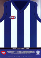 AFL THE PREMIERSHIP YEARS: NORTH MELBOURNE (LIMITED EDITION CLUB TIN) DVD