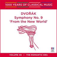 MELBOURNE SYMPHONY ORCHESTRA - DVORAK: SYMPHONY NO. 9 CD