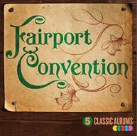 FAIRPORT CONVENTION - 5 CLASSIC ALBUMS VOL 2 (UK) CD