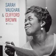 SARAH VAUGHAN - SARAH VAUGHAN & CLIFFORD BROWN + 1 BONUS TRACK VINYL