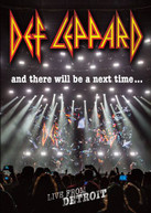 DEF LEPPARD - & THERE WILL BE A NEXT TIME: LIVE FROM DETROIT DVD