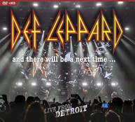 DEF LEPPARD - & THERE WILL BE A NEXT TIME: LIVE FROM DETROIT (LTD) DVD