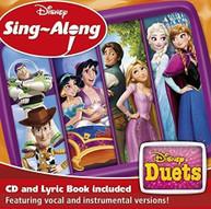 DISNEY SING -ALONG: DUETS / VARIOUS (UK) CD