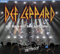 DEF LEPPARD - & THERE WILL BE A NEXT TIME: LIVE FROM DETROIT (LTD) BLURAY