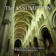 MONASTIC CHOIR OF ABBEY NOTRE DAME DE FONTGOMBAULT - ASSUMPTION CD