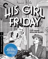 HIS GIRL FRIDAY (2 DISC) (CRITERION COLLECTION) (UK) BLU-RAY