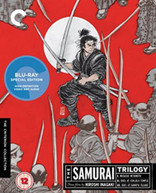SAMURAI TRILOGY (CRITERION COLLECTION) (UK) BLU-RAY